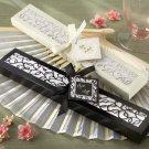 Luxurious Silk Fan in Elegant Gift Box