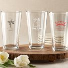 Personalized Pint Glass 16 oz.     - 48 order minimum 2/ $29.99 set up fee