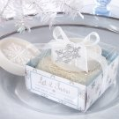 """Let it Snow"" Snowflake Soap"
