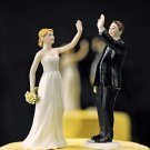 High Five Bride & Groom Figurine - Sold Separately