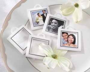 """Capture the Moment"" Photo Frame Tag (Set of 12)"