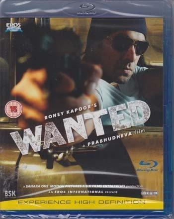 Wanted Hindi Blu Ray