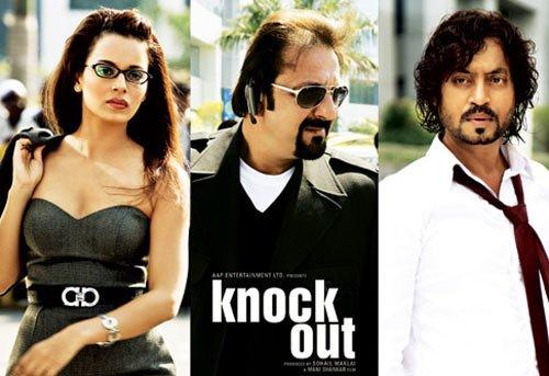 Knock Out  Hindi DVD * Sanjay Dutt, Irfan, Kangna *