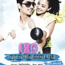 180 Tamil DVD With English Subtitles*Siddharth,Priya Anand,Nithya Menen