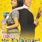 LOVE U..MR.KALAKAAR Hindi DVD * Tusshar Kapoor, Amrita