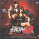 DON 2 (DON2) Bollywood Hindi Music Audio CD Stg: Shahrukh Khan, Priyanka Chopra