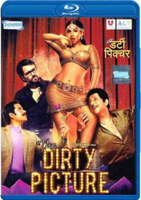 The Dirty Picture Bollywood Hindi Blu Ray (Indian Blu Ray) * Vidya Balan, Emraan