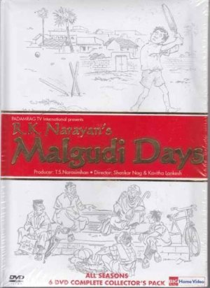 R K Narayan&#039;s Malgudi Days (6 DVDs Set) Hindi Version with English Subtitles