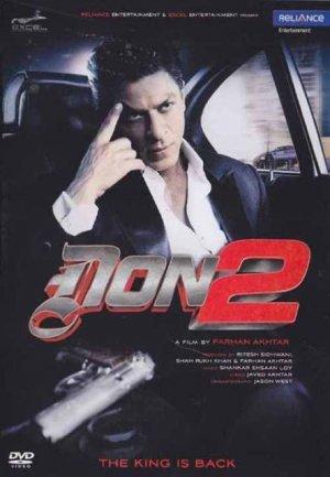 DON 2 Hindi DVD *Shahrukh Khan, Priyanka Chopra  (Don2)  Director-Farhan Akhtar