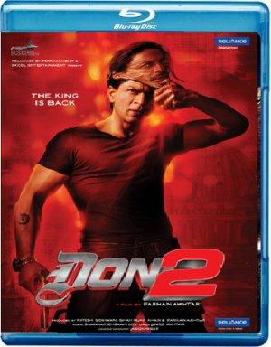 Don 2 Hindi Blu Ray Starring: Shahrukh Khan, Priyanka Chopra, Boman Irani, Directed by Farhan Akhtar