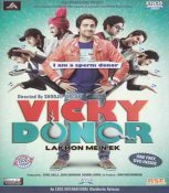 Vicky Donor Hindi DVD (2012 / Bollywood / Indian / Cinema)