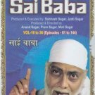 Ramanand Sagar's Sai Baba Hindi TV Serial (21 DVDs) Part 1 (Episodes 61 - 144)
