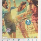 Cocktail Hindi DVD (2012) (Movie/Bollywood/Indian/Film) Saif Ali Khan, Deepika