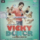 Vicky Donor Hindi Blu Ray (2012/Bollywood/Indian/Cinema/Film/Movie) * Ayushmann
