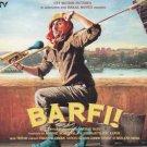 Barfi! Hindi Audio CD (2012) (Bollywood Film) Ranbir Kapoor, Priyanka Chopra