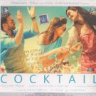 Cocktail Hindi CD (2012/Bollywood/Film/Cinema) Saif Ali Khan, Deepika Padukone
