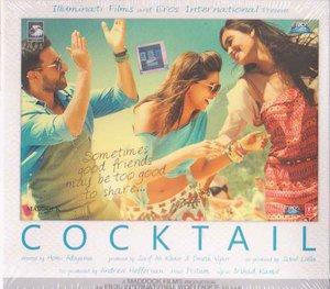 Cocktail Hindi CD (2012/Bollywood/Film/Cinema) Saif Ali Khan, Deepika Padukone