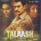 Talaash Hindi Blu Ray (2012 Bollywood/Movie/Film/DVD) Aamir Khan, Rani Mukherji