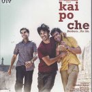 Kai Po Che Hindi Blu Ray (Bollywood,Indian,Movie,Film,)*(Sushant Sigh Rajput)