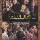 Saheb Biwi Aur Gangster Hindi DVD (Bollywood/Indian/Cinema) (Jimmy Shergill)