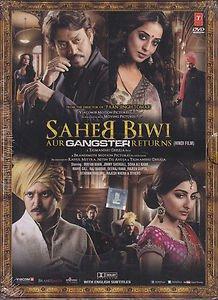 Saheb Biwi Aur Gangster Hindi DVD (Bollywood/Indian/Cinema) (Jimmy Shergill)