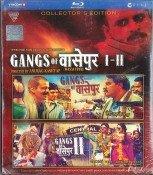 Gangs of Wasseypur I  and II Hindi Blu Ray Combo (2013/Bollywood/FIlm/Cinema)