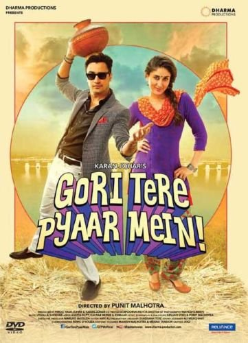 Gori Tere Pyaar Main Hindi DVD (2013/Indian/Bollywood/Cinema)*Imraan, Kareena