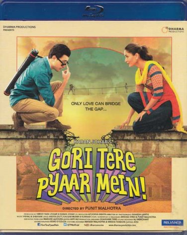 Gori Tere Pyaar Mein Hindi BRD *ing Imran Khan, Kareena Kapoor (Bollywood/2013)