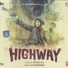 Highway Hindi Audio CD (Randeep Hooda,Aliya Bhatt) (Bollywood/cinema/2014 film)