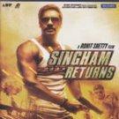 Singham Returns Hindi Blu Ray Stg:Ajay Devagan,Kareen Kapoor (Bollwood Film DVD)