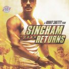 Singham Returns Hindi DVD Stg: Ajay Devagan, Kareen Kapoor (Bollwood Film DVD)