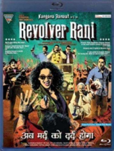 Revolver Rani Hindi Blu Ray Starring Kangana Ranaut, Vir Das(Bollywood/2014)