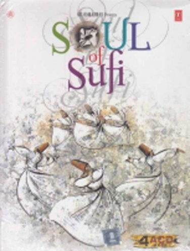 Soul Of Sufi Hindi CD 4 Disc Set (Bollywood/Film/Movie/Music/Songs)