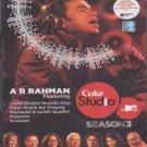 Coke Studio @ MTV Season 3 - A. R. Rahman (CD + DVD)(Indian/Movie/Film/Music)