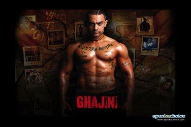 Ghajini Hindi DVD(Bollywood/Film) *ing Aamir Khan, Asin, Jiah Khan