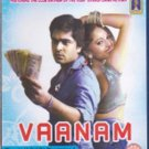Vaanam Tamil Blu Ray Starring:Silambarasan, Bharath, Anushka, Sneha Ullal, Vega
