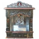 "Puja Mandir (Temple/ Shrine/ Altar/ Pooja) With Bell 19""x 10""x 29"""
