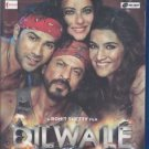 Dilwale Hindi Blu ray - Stg - Kajol, Shah Rukh Khan (Bollywood Films 2015)