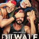 Dilwale Hindi DVD - Shahrukh Khan, Kajot (Bollywood/Indian/Cinema/2016)