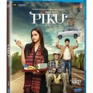 Piku Hindi Blu Ray - Amitabh Bachchan, Deepika Padukone (Pre Order)