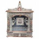 "Puja Mandir (Temple/ Shrine/ Altar/ Pooja) With Bell 25""x 10""x 31"""