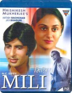 Mili Hindi Blu Ray (Amitabh Bachchan, Jaya Bachchan)