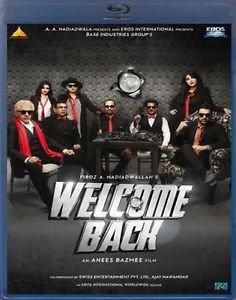 Welcome Back Hindi Blu Ray