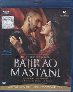 Bajirao Mastani Hindi Blu Ray (Bollywood/ Film/ Cinema)