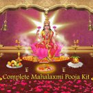 Mahalaxmi Puja Kit with Silver Coin and Lakshmi Pooja items