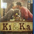 Ki & Ka Hindi Blu Ray - Kareena Kapoor, Arjuna Kapoor