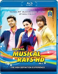 Minnal Musical Rays HD Volume 2 Tamil Blu Ray - Super Hit Songs of Kollywood