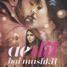 Ae Dil hai Mushkil Sentimental Hindi Hits Songs (CD,2016, Sony Music) by Arijit