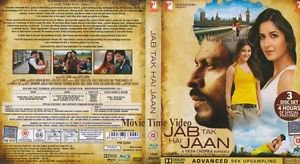 jab tak hai jaan Hindi Blu Ray Stg: Sharukh Khan, Katrina Kaif, Anushka Sharma