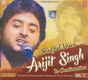 Soulful Voice Arijit Singh In Continuation Vol. 2 Hindi CD (Set of 2 ACDs)